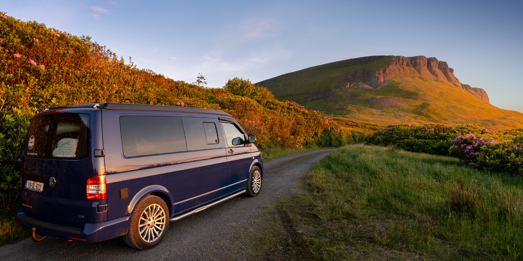 Why you should rent a big camper van for your first holiday trip with your family